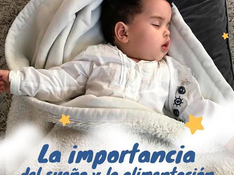 La importancia del sueño y la alimenación