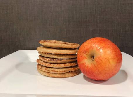Panquecas de Manzana.