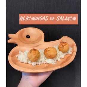 Albóndigas de Salmón.