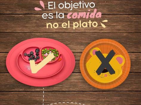 El objetivo es la comida, no el plato.