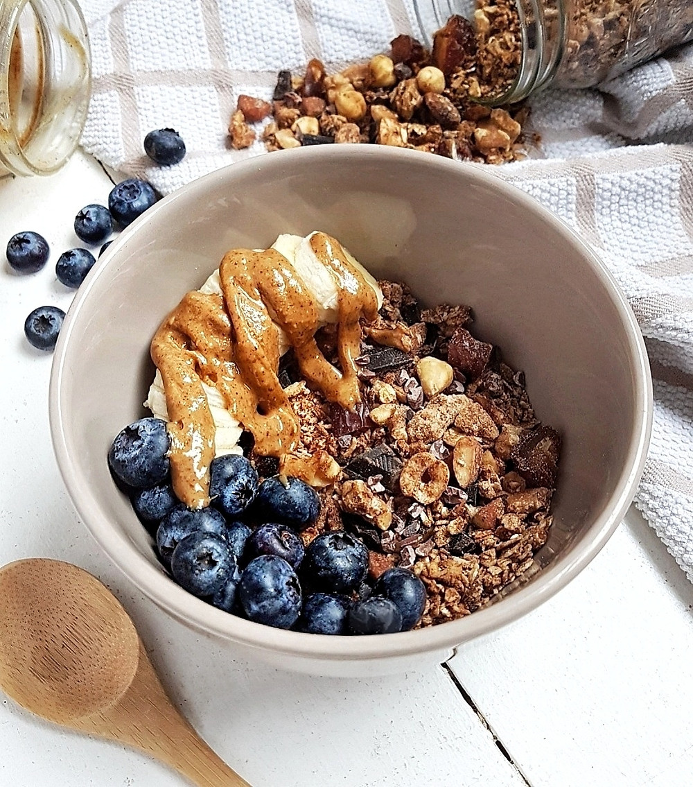 Crunchy Chocolate Chunk Protein Granola Recipe Rawsome Reviews