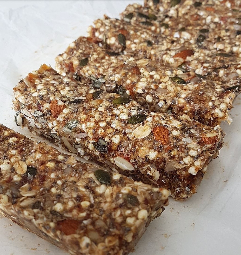 Easy Vegan No-Bake Muesli Bars