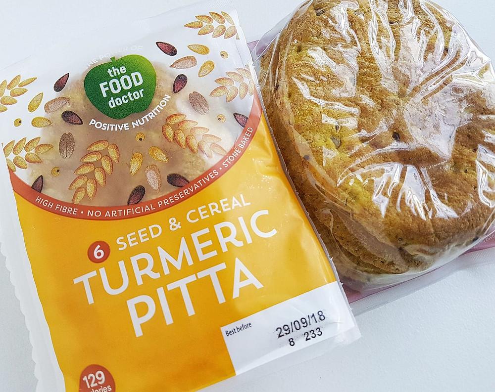 The Food Doctor Sweet Potato Turmeric Pitta