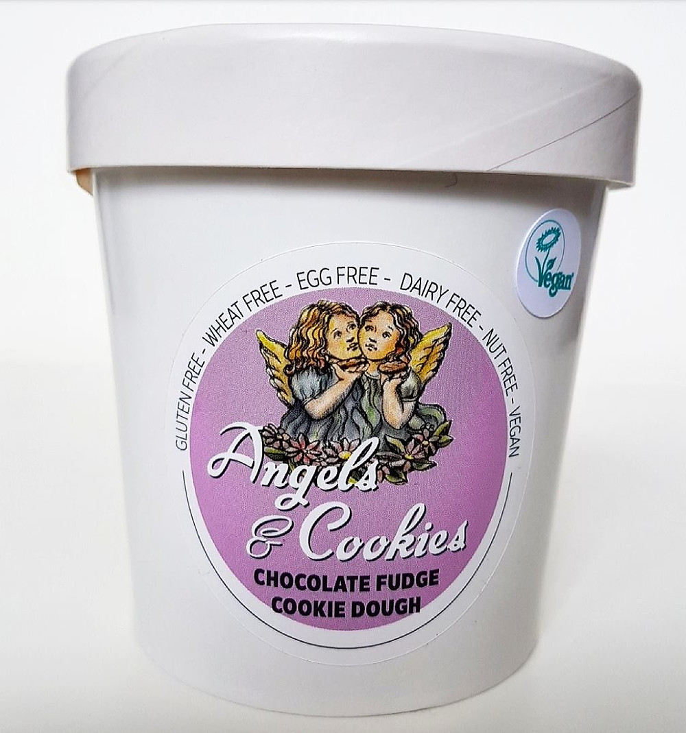 angels and cookies chocolate fudge cookie dough