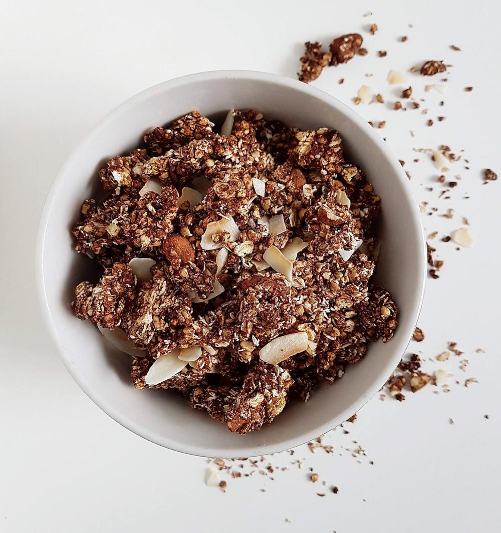 Chocolate Granola (vegan & gluten free)