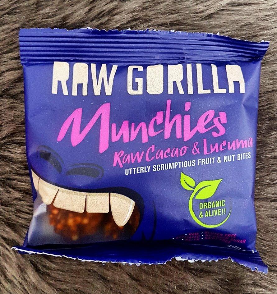 Raw Gorilla Cacao & Lucuma Munchies