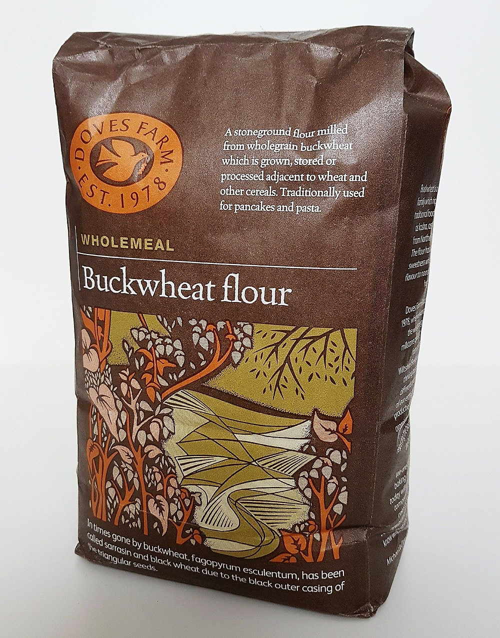Doves Farm Wholemeal Buckwheat Flour