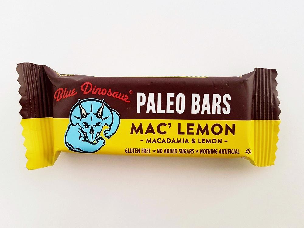 Blue Dinosaur Bar Mac' Lemon