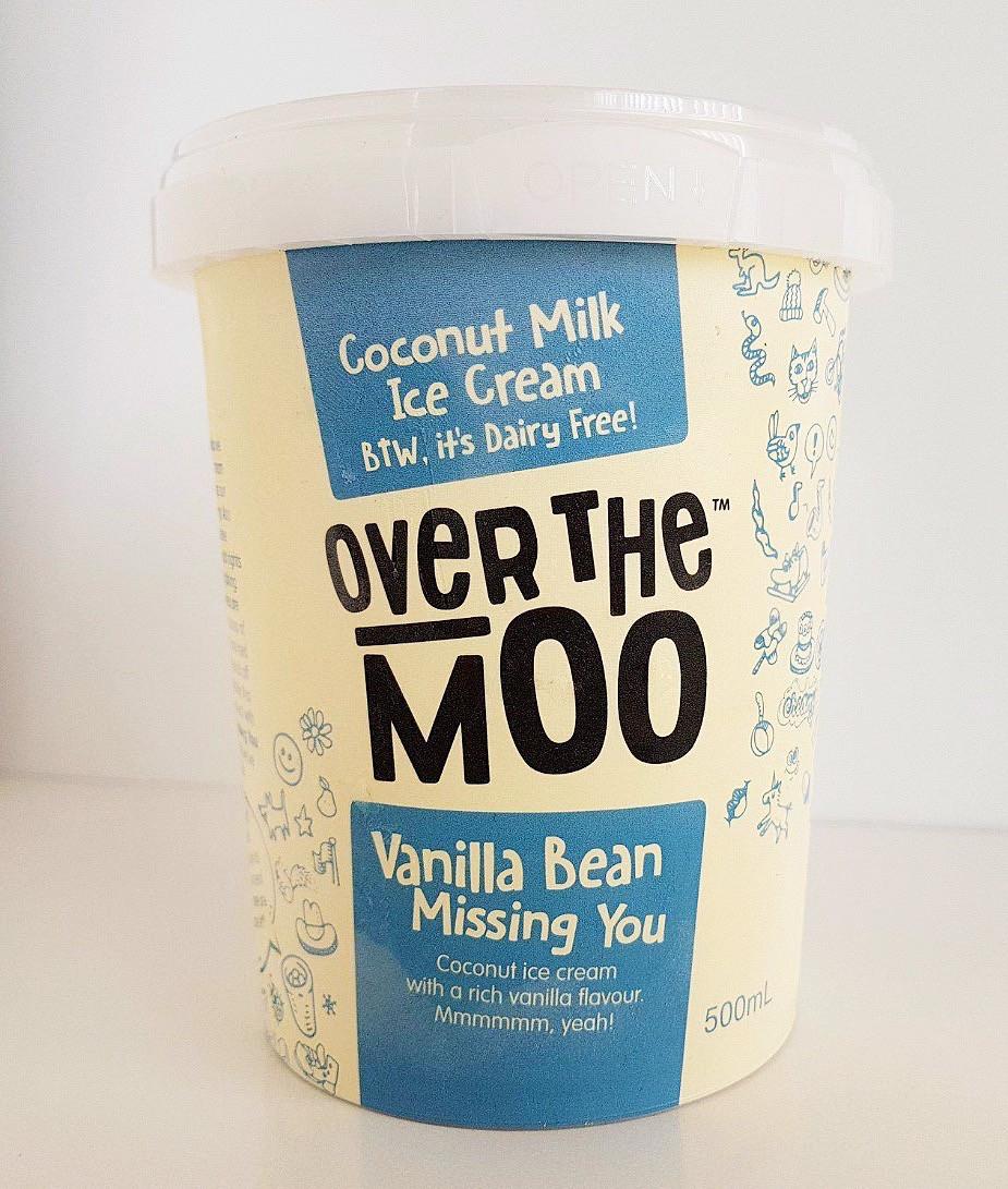 Over the Moo Vanilla Bean Ice Cream