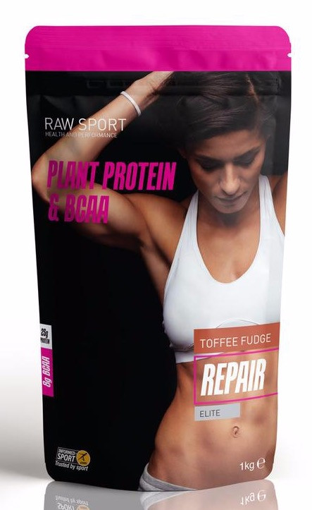 Raw Sport Repair Protein Toffee Fudge