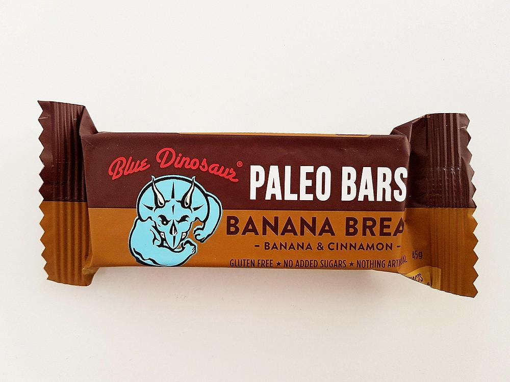 Blue Dinosaur Bar Banana Bread