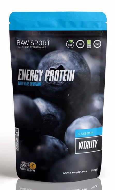 Raw Sport Blueberry Energy Protein