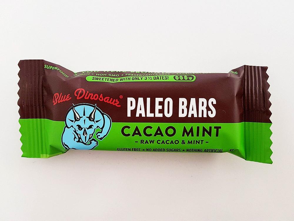 Blue Dinosaur Bar Cacao Mint