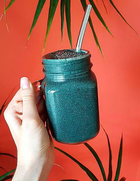 Spirulina Protein Smoothie