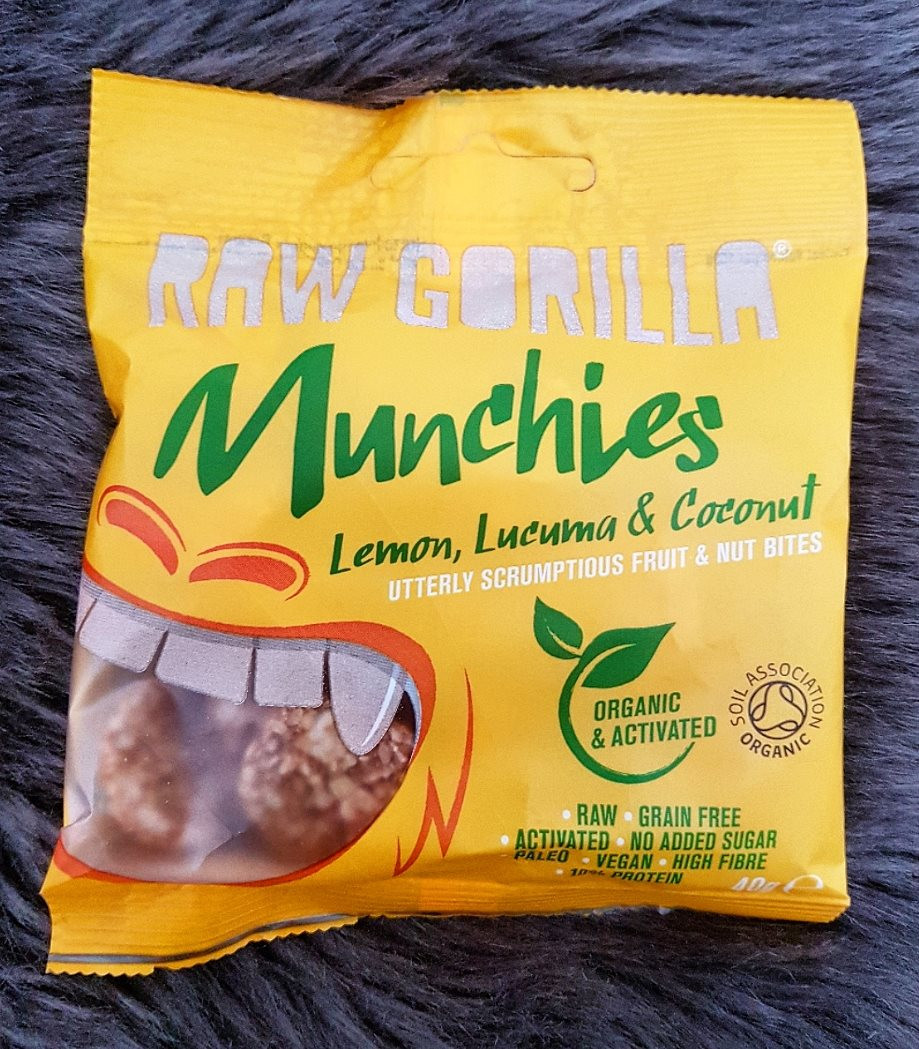 Raw Gorilla Lemon, Lucuma & Coconut Munchies