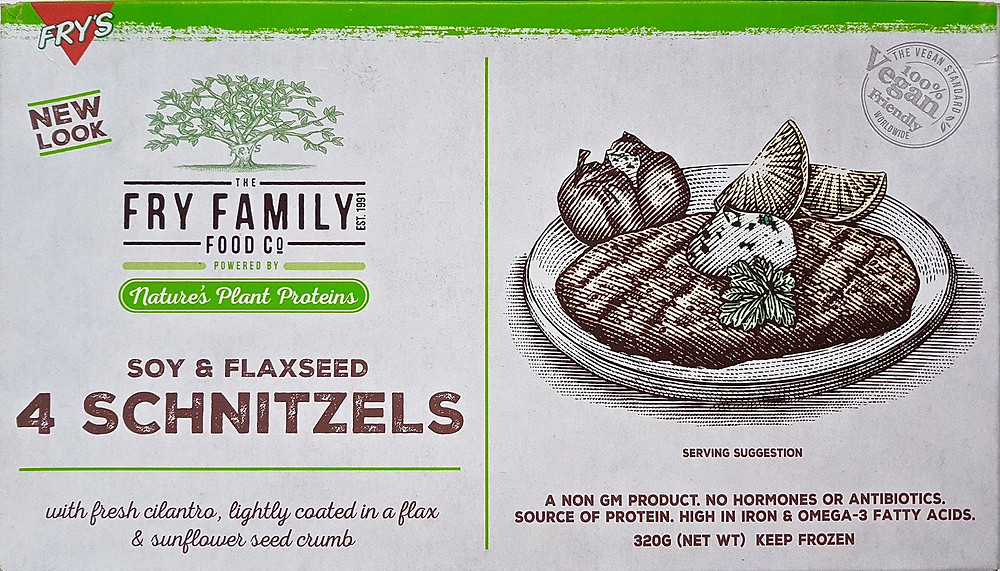 The Fry Family Food Co. Soy & Flaxseed Schnitzels