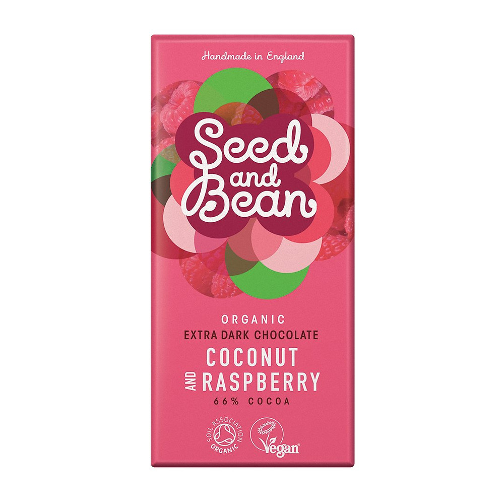 Seed and Bean Coconut and Raspberry