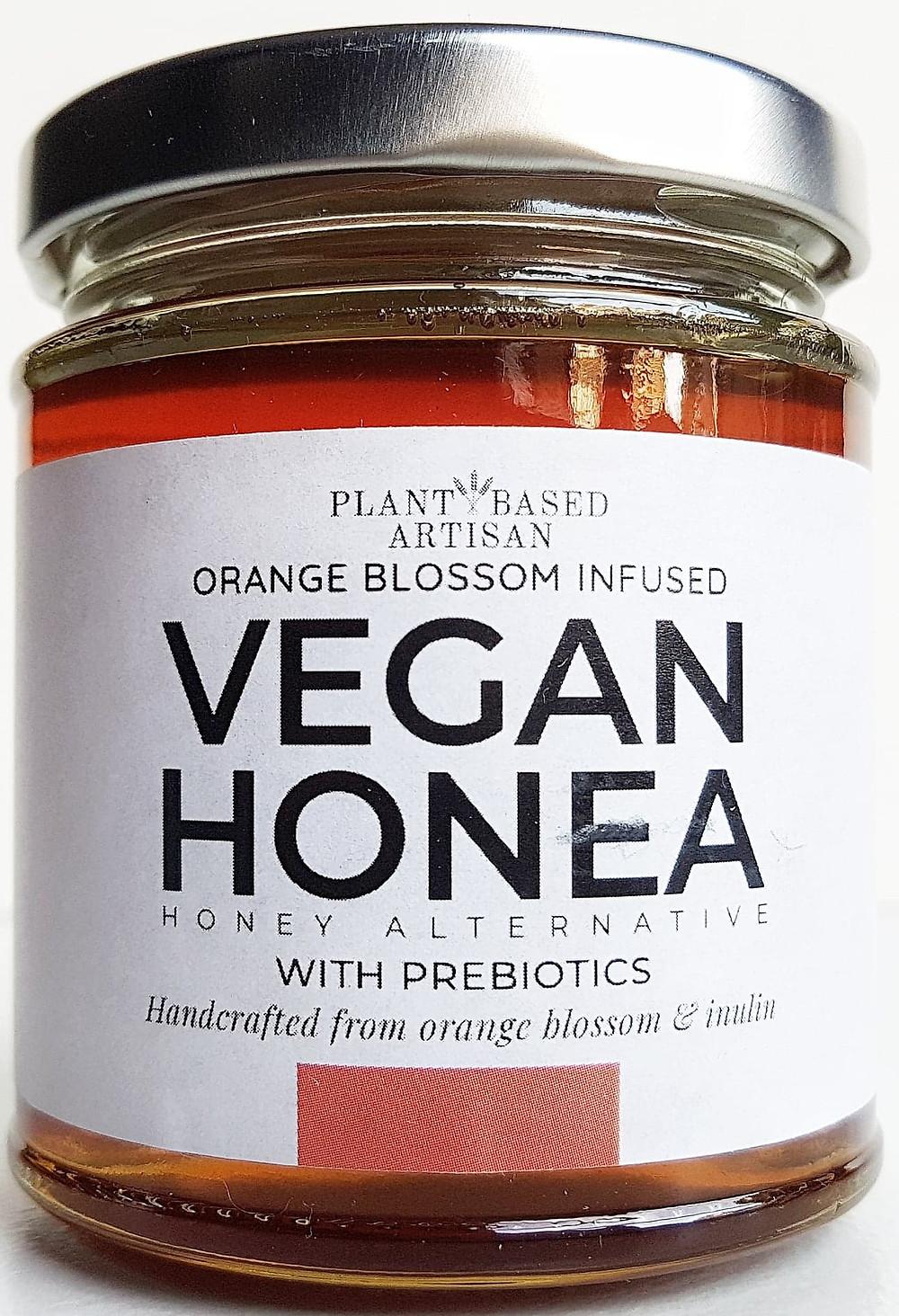 Plant Based Artisan vegan honey Orange Blossom