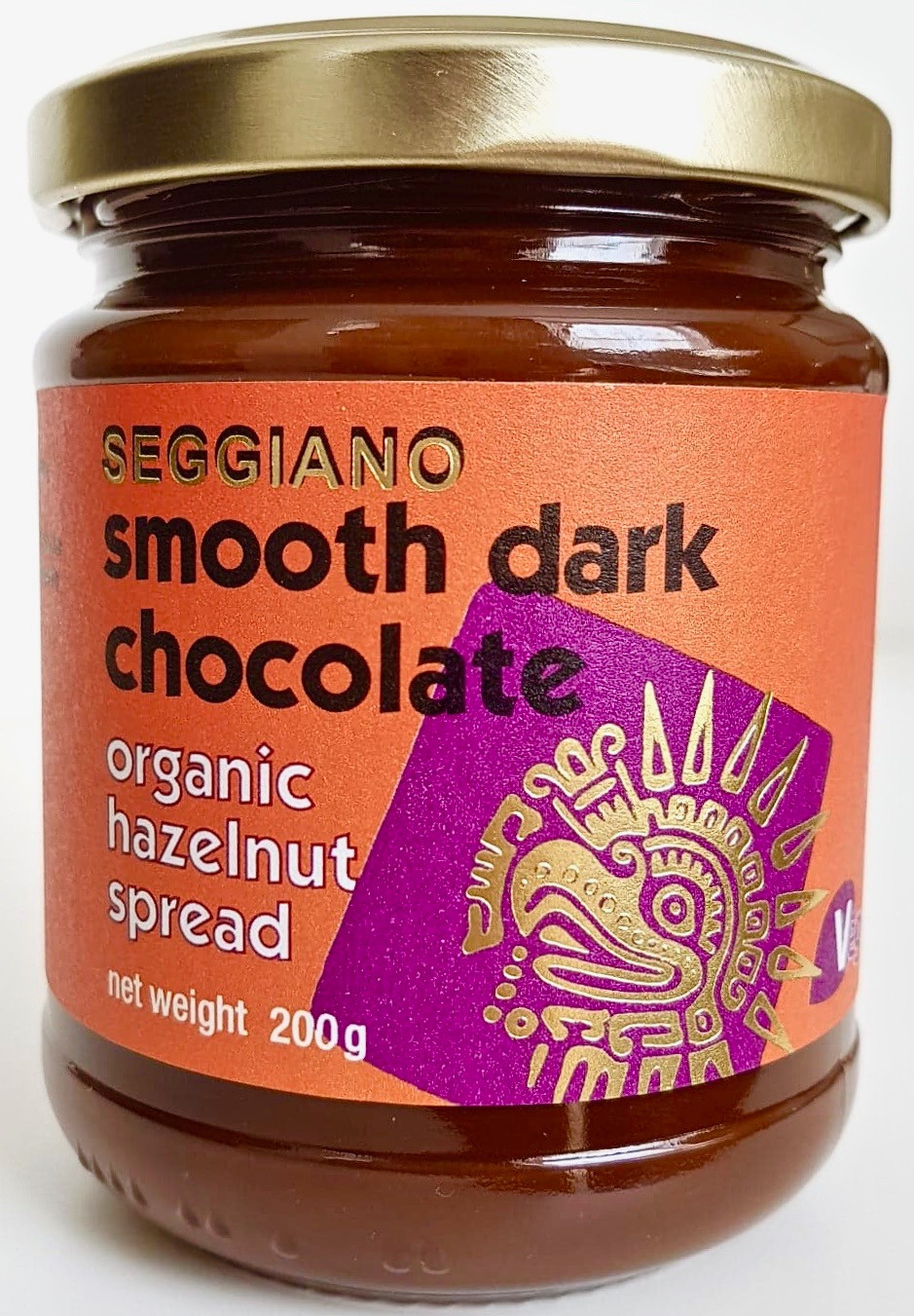 Seggiano Vegan Dark Chocolate Hazelnut Spread