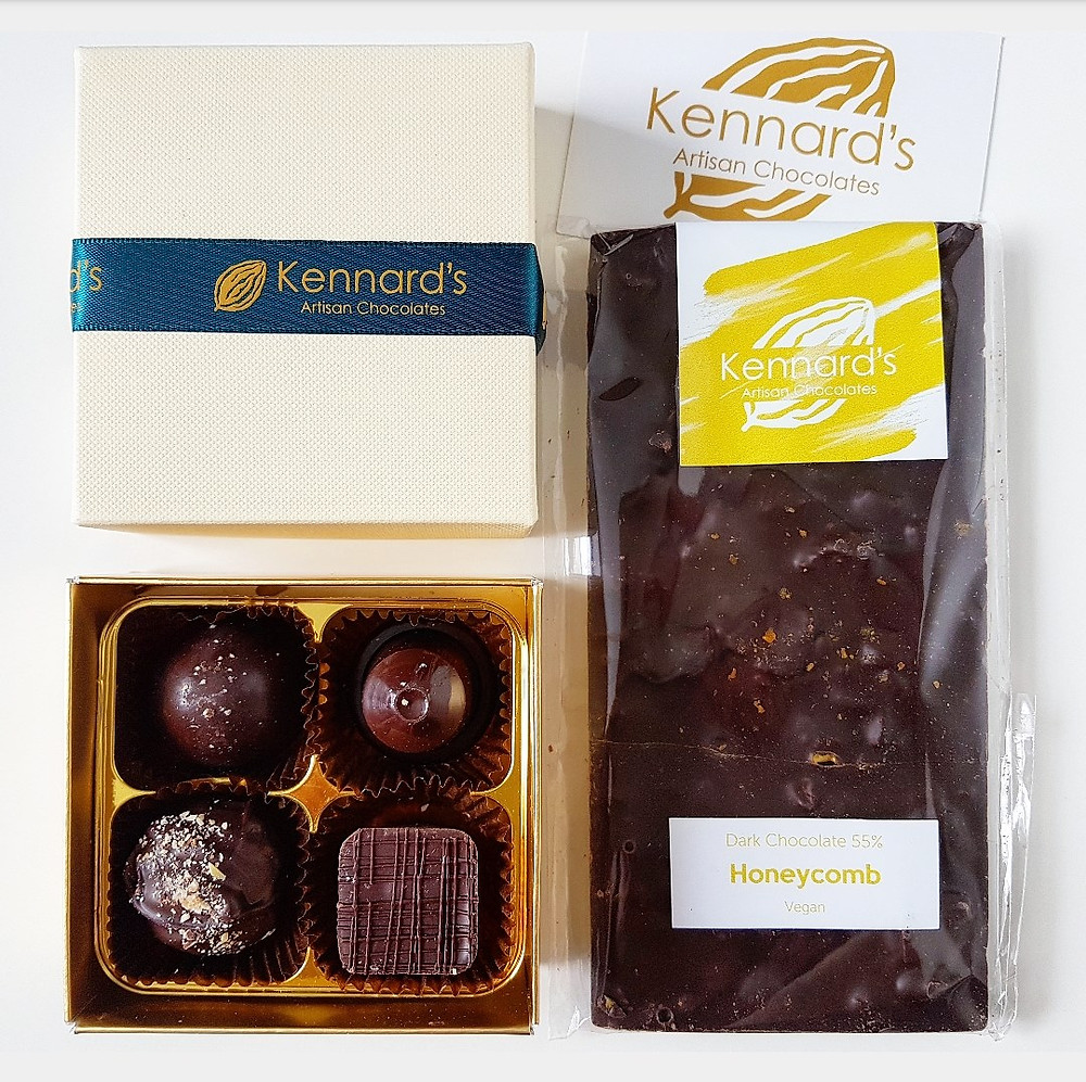 Kennard's Artisan Chocolates - vegan chocolate