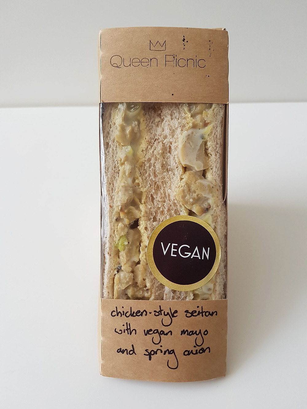 Queen Picnic Vegan Sandwich