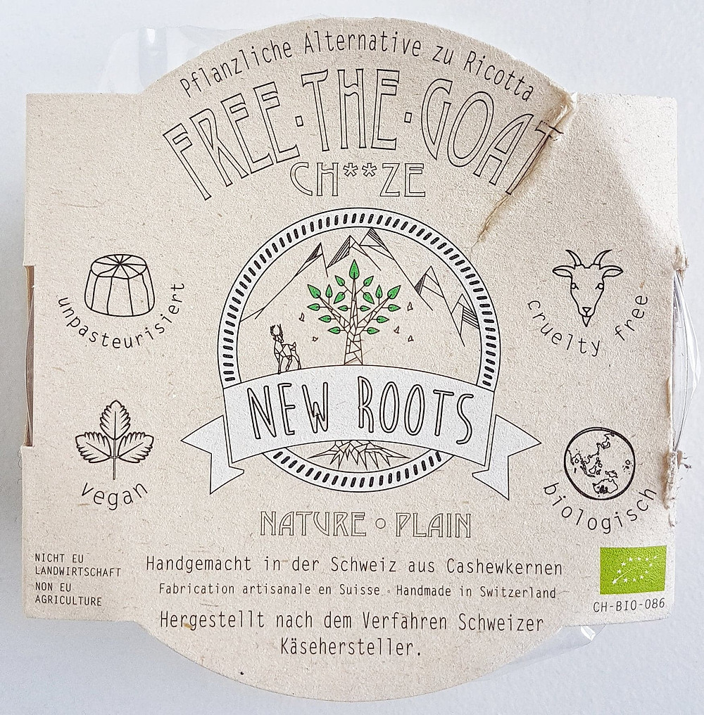 New Roots Vegan Cheese Plain