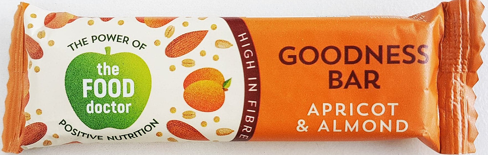 The Food Doctor Apricot & Almond Bar