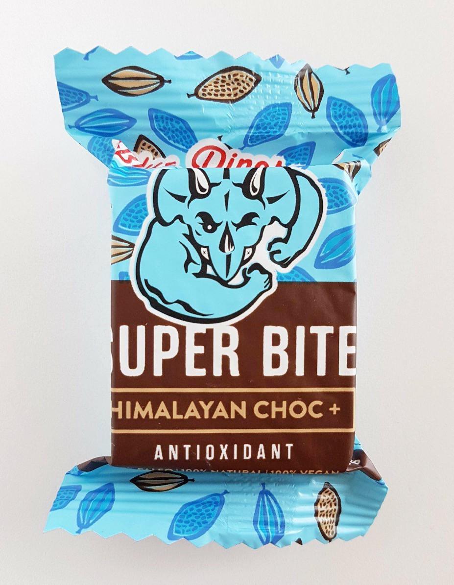 Blue Dinosaur Super Bite Bar Himalayan Choc