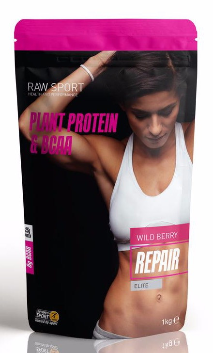 Raw Sport Repair Protein Wild Berry