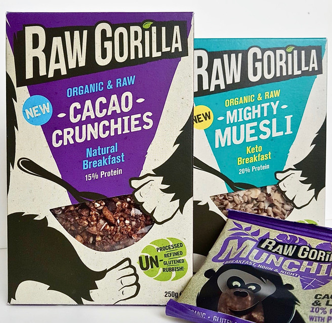 Raw Gorilla (new products!)
