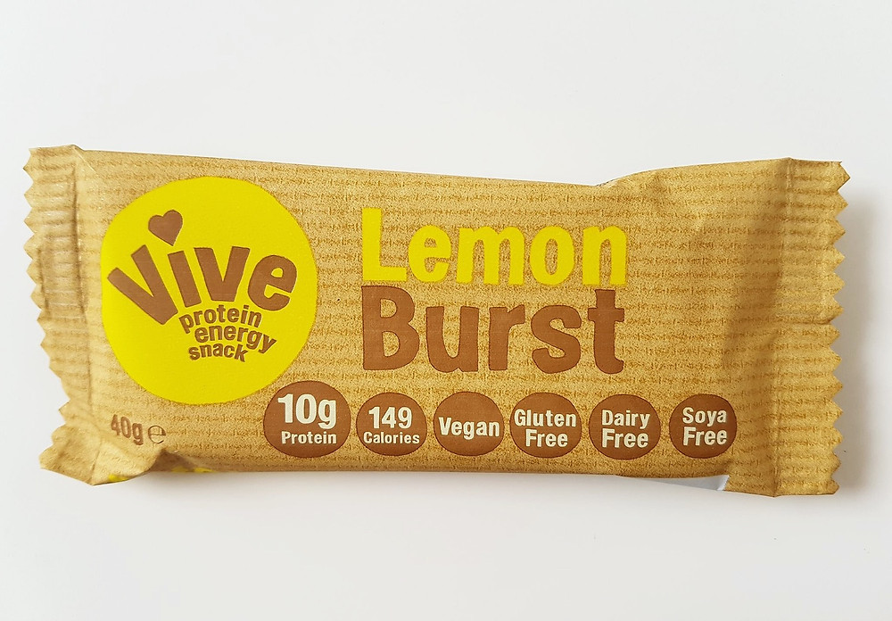 Vive Protein Bars Lemon Burst