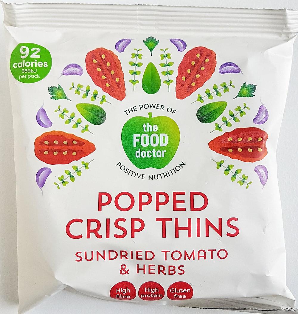 The Food Doctor Crisps Sundried Tomato & Herbs