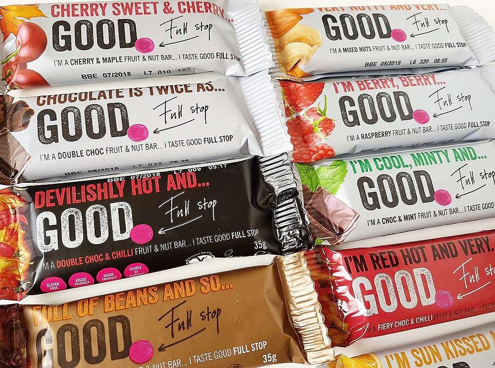 Good Full Stop snack bars