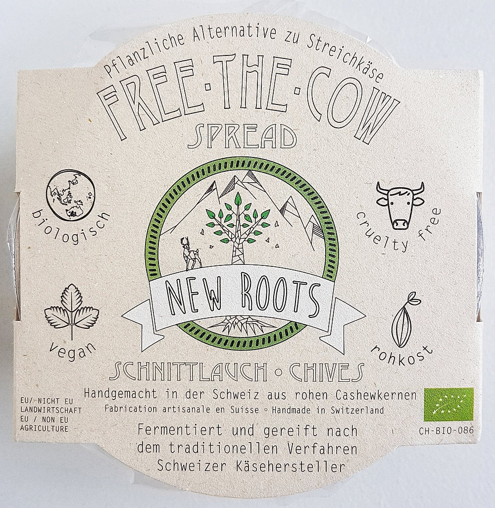 New Roots Vegan Cheese Chives