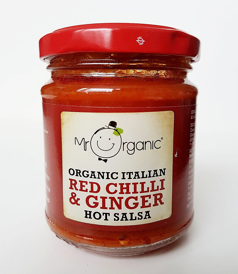 Mr Organic Red Chilli & Ginger Salsa