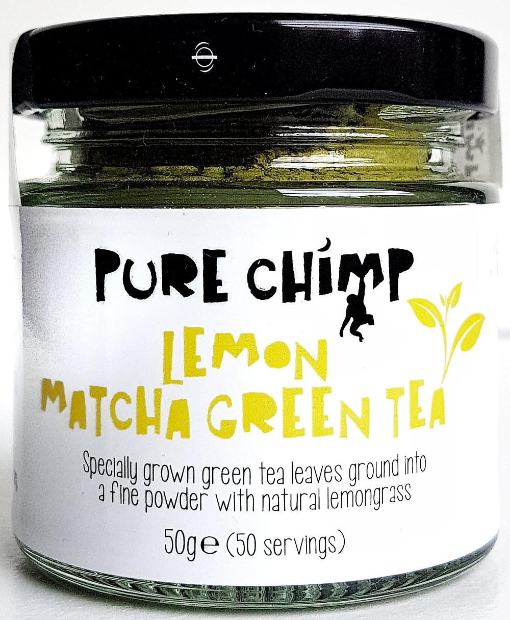 Pure Chimp Matcha Lemon