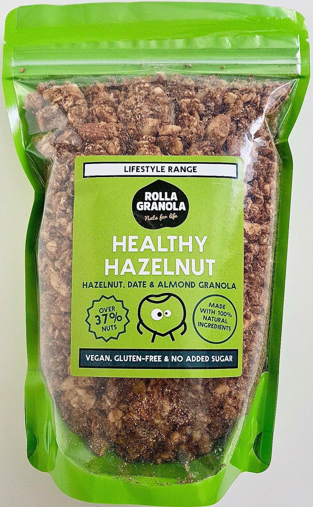 Rollagranola Healthy Hazelnut