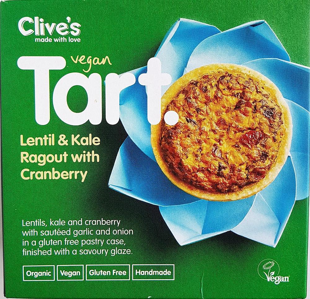 Clive's Tart Lentil & Kale Ragout with Cranberry