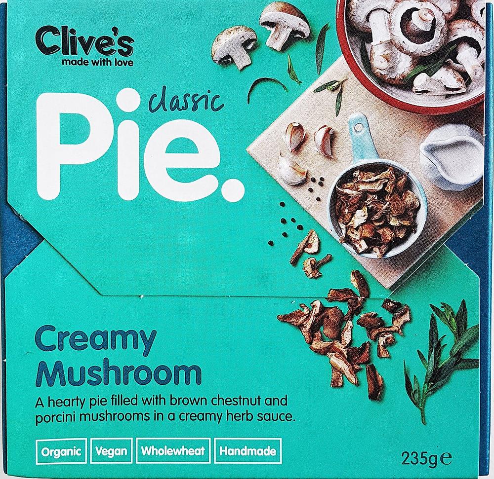 Clive's Pies Creamy Mushroom