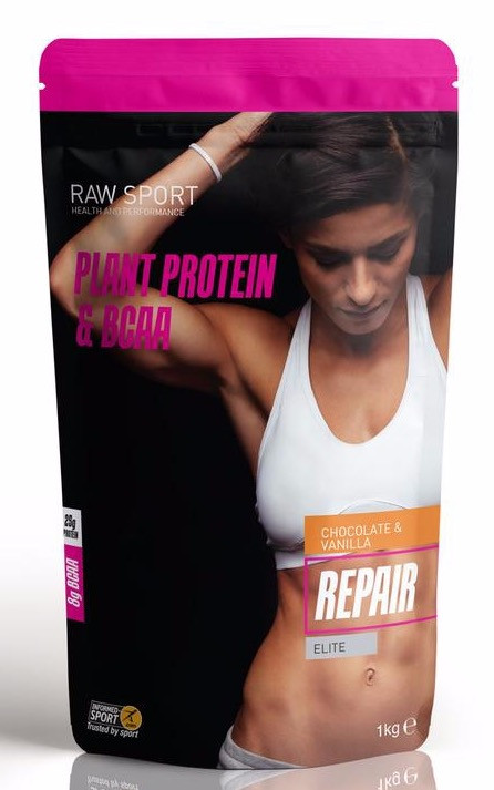 Raw Sport Repair Protein Chocolate & Vanilla
