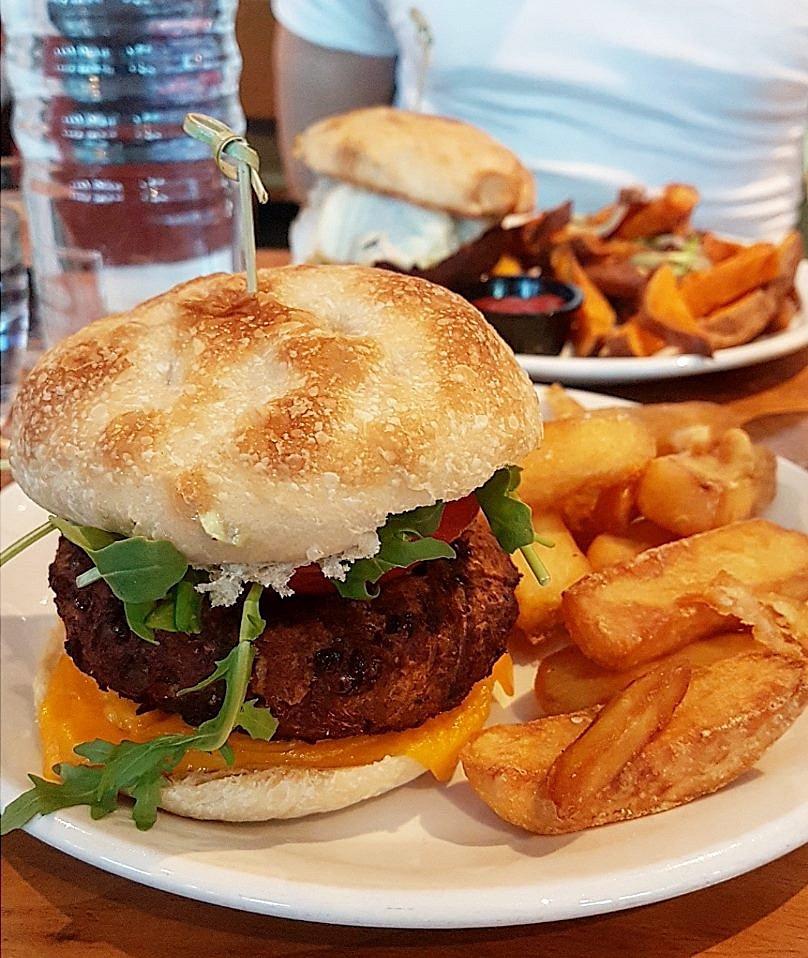 Mildreds Restaurant Classic Burger
