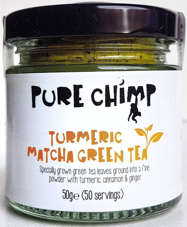 Pure Chimp Matcha Turmeric
