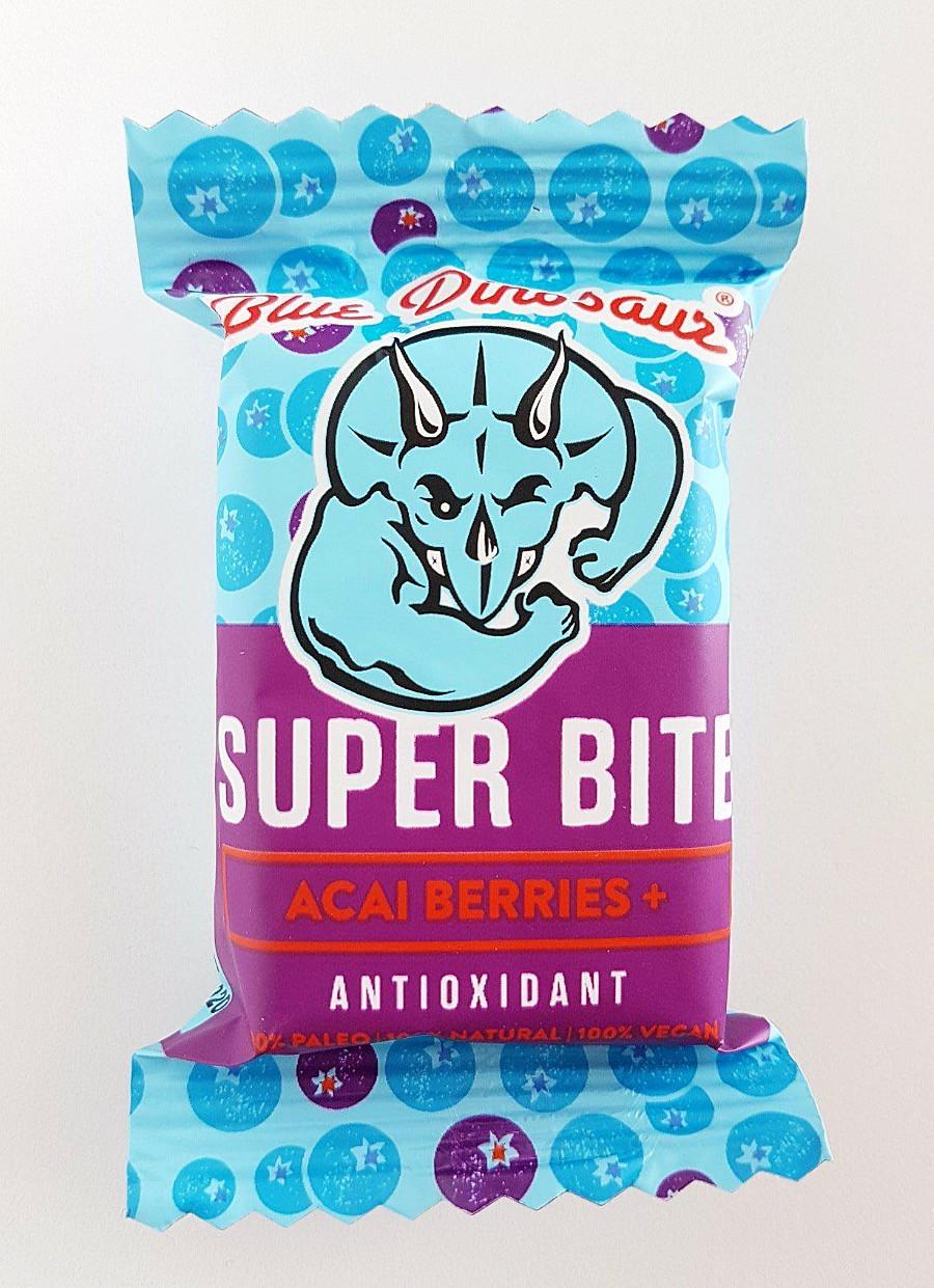Blue Dinosaur Super Bite Bar Acai Berries