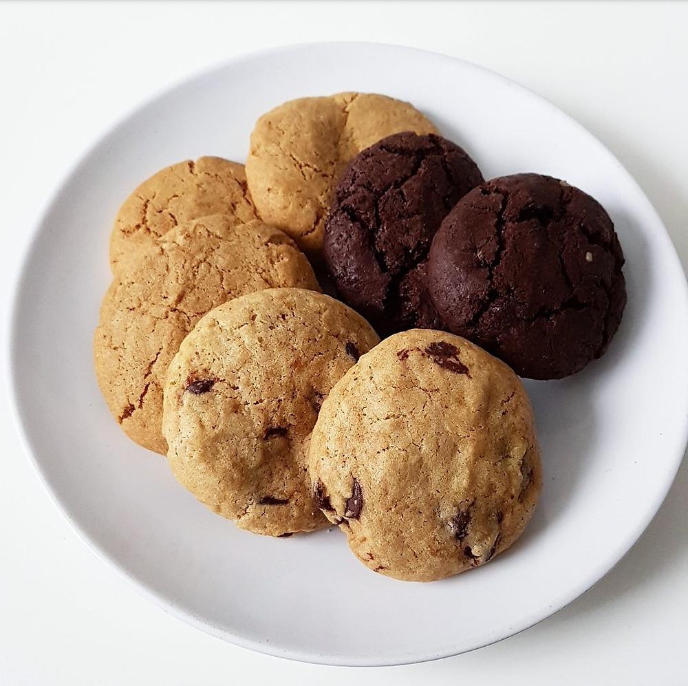 angels and cookies - vegan cookies