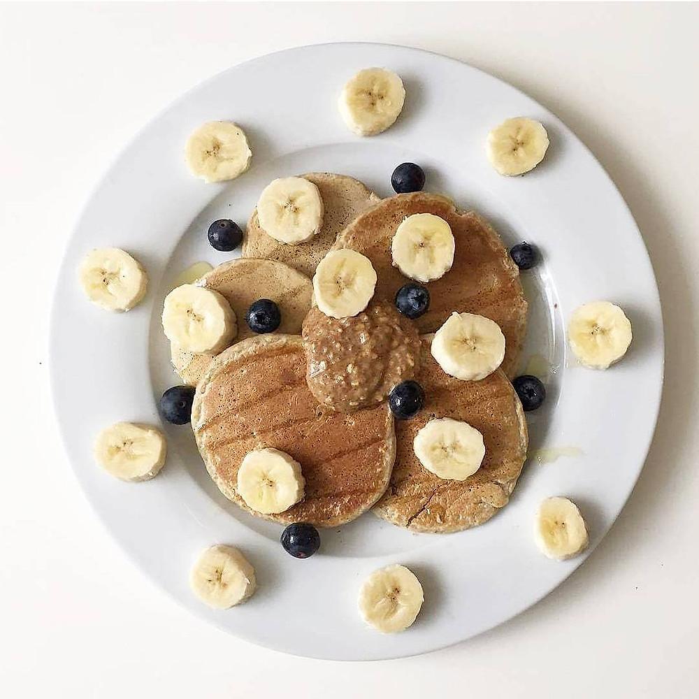 Vegan Oat & Buckwheat Pancakes