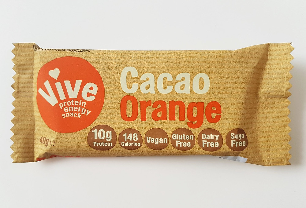 Vive Protein Bars Cacao Orange