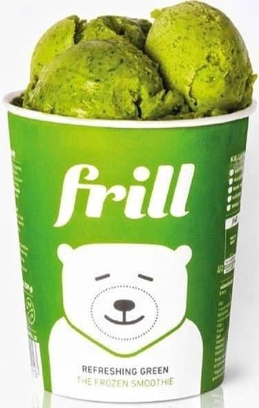 Frill Refreshing Green