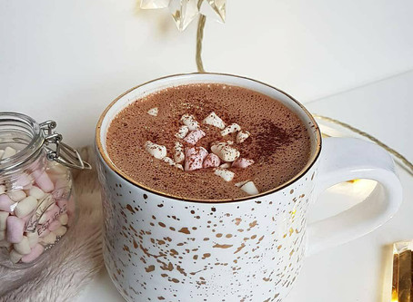 Healthy Hazelnut Hot Chocolate