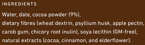 Frill Intense Chocolate Ingredients