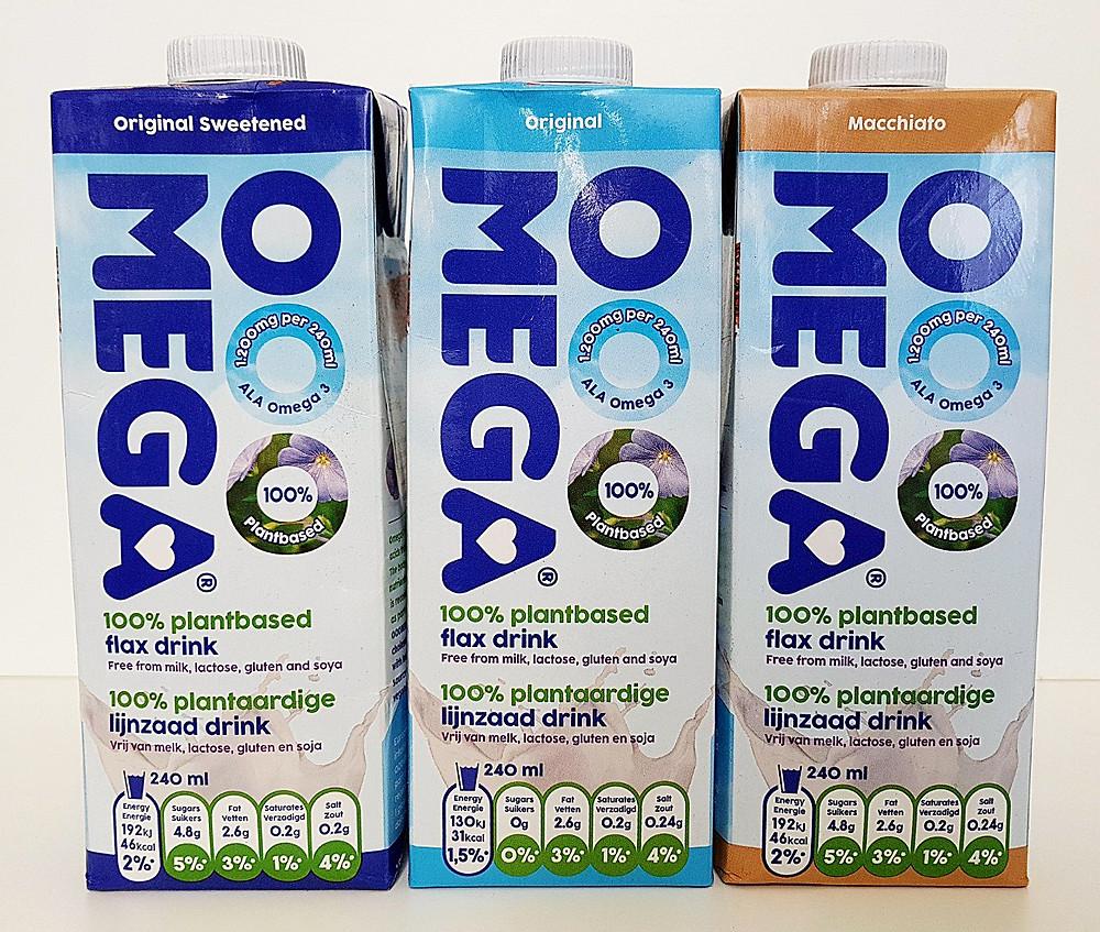 Ooomega flax drink